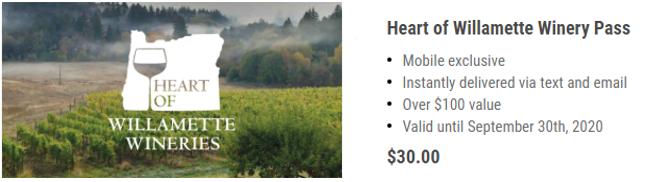 Heart of Willamette Passport Link Image